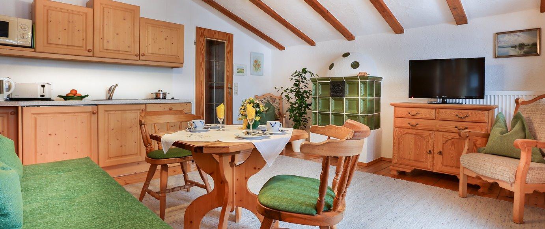 Oslhof - Ferienwohnungen in Ramsau bei Berchtesgaden - Wohnungsbeispiel